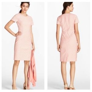 Brooks Brothers Gingham Double Weave Sheath Dress